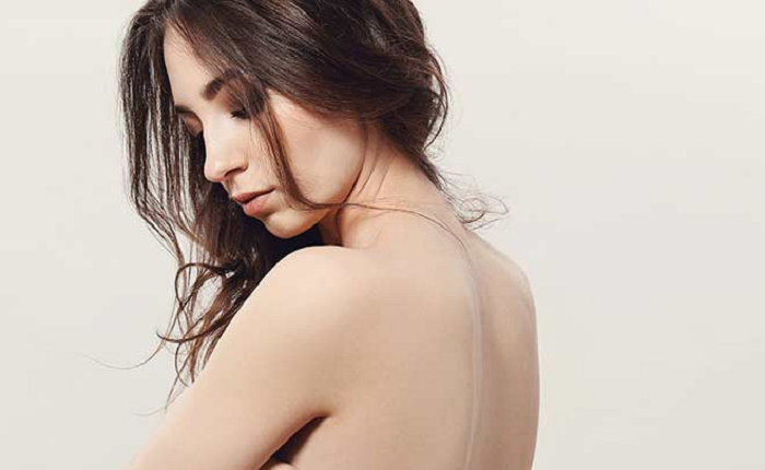 party-ready skin for a backless dress